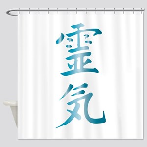 Reiki Shower Curtain